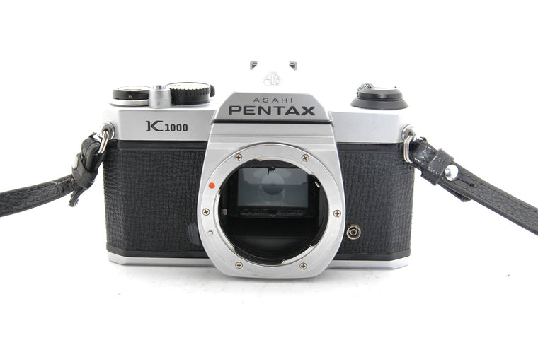 Used Pentax K1000 Camera Body - Silver