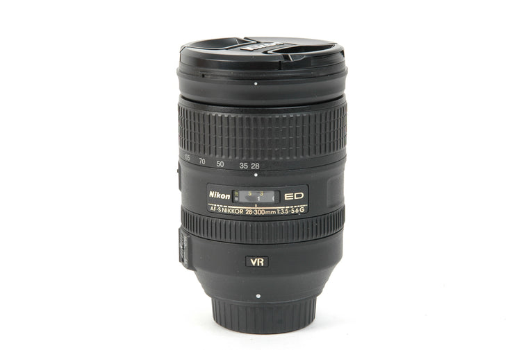 Used Nikon AF-S 28-300mm f/3.5-5.6G IF-ED VR Lens
