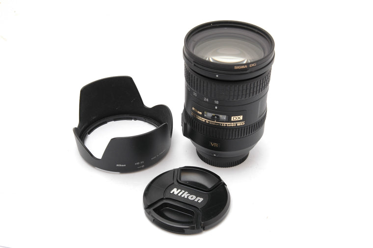 Used Nikon AF-S 18-200mm f/3.5-5.6G IF-ED DX VR II Lens