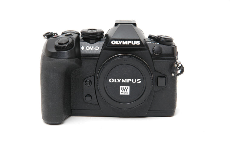 Used Olympus OM-D E-M1 II Camera Body - Black