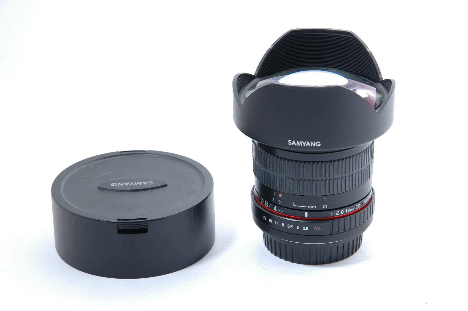 Samyang 14mm F2.8 ED AS IF UMC Prime Len - Canon Fit