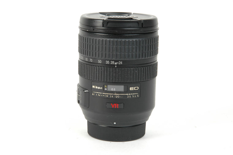 Used Nikon AF-S 24-120mm f/3.5-5.6G IF-ED VR Lens