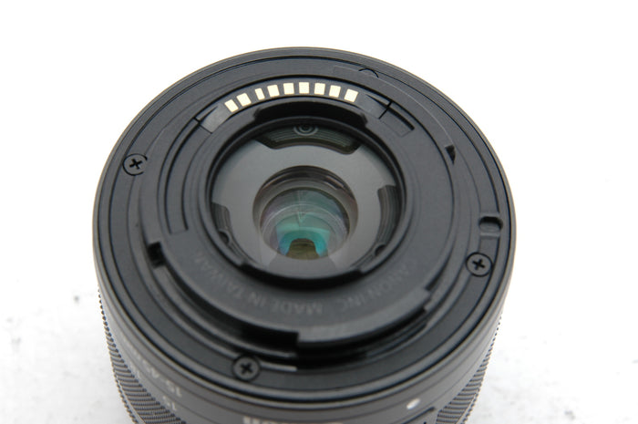 Used Canon EF-M 15-45mm f/3.5-6.3 IS STM Lens