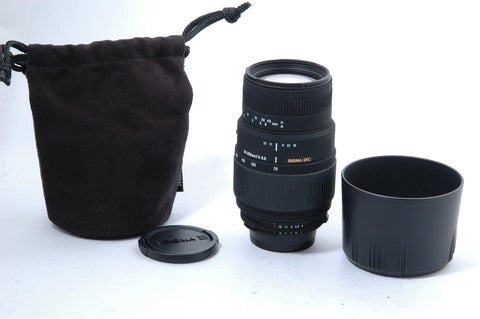 Sigma 70-300 f4-5.6 DG Macro for Nikon