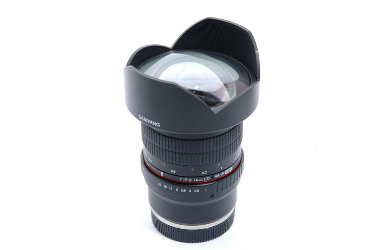 Used Samyang 14mm F2.8 ED AS IF UMC Prime Lens - Sony E mount Fit