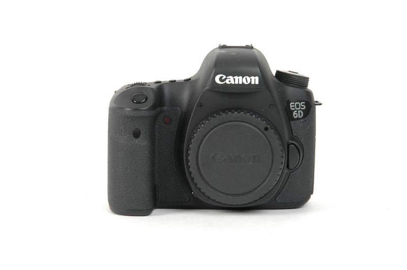 Used Canon EOS 6D Camera Body - Black