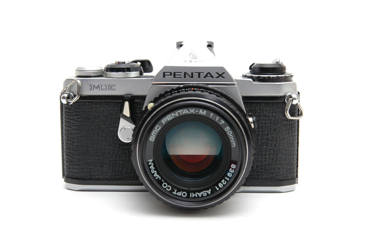 Used Pentax ME 35mm Film Camera with 50mm f1.7 Lens