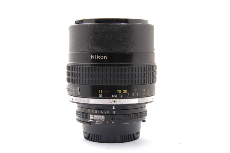 Used Nikon 105mm f/1.8 Manual-Focus NIKKOR AI-S