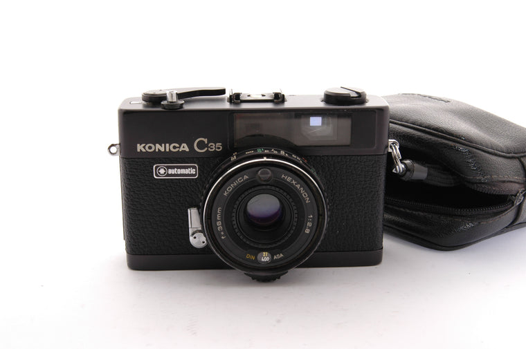 Used Konica C35 Compact 35mm Camera