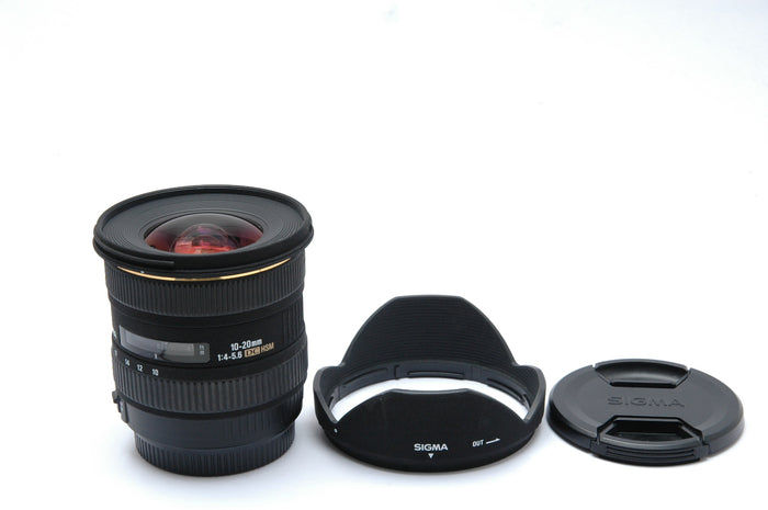 Used Sigma 10-20mm f4-5.6 EX DC HSM  For Canon AF