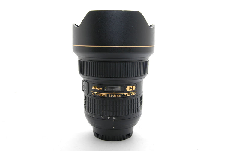 Used Nikon AF-S 14-24mm f/2.8G IF-ED Lens