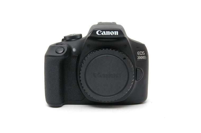 Used Canon EOS 2000D Camera Body - Black