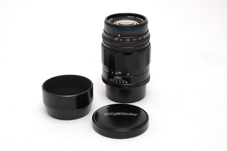 Used Voigtlander APO-Lanthar 90mm f/3.5 Lens M39mm Screw Mount