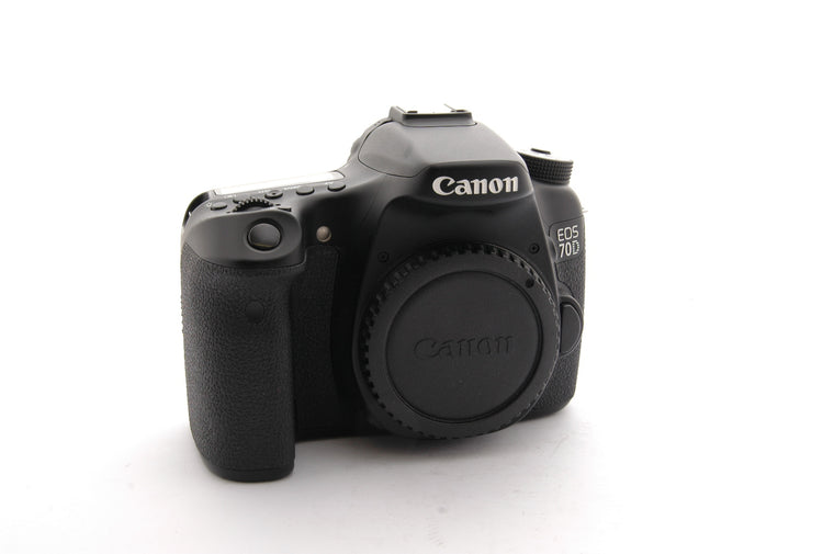 Used Canon EOS 70D Body - Black
