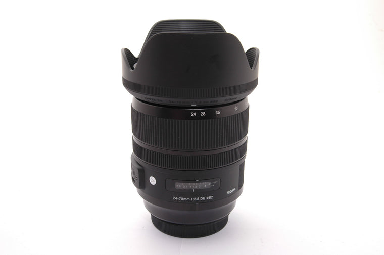 Used Sigma 24-70mm f/2.8 DG OS HSM Art for Canon