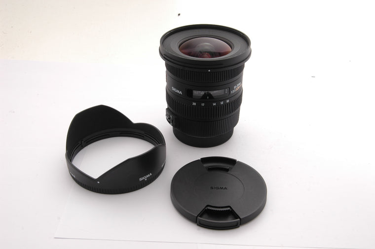 Used Sigma 10-20mm F3.5 EX DC - Canon EF Mount