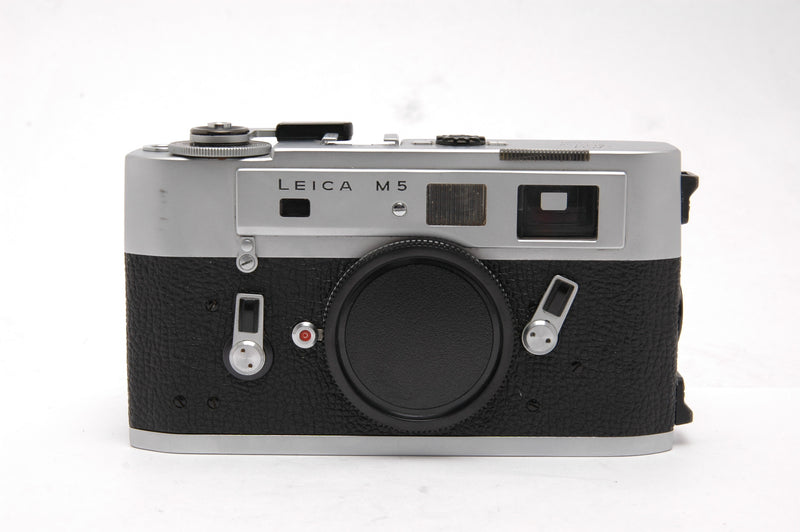 Used Leica M5 Rangefinder 35mm Film Camera - Silver