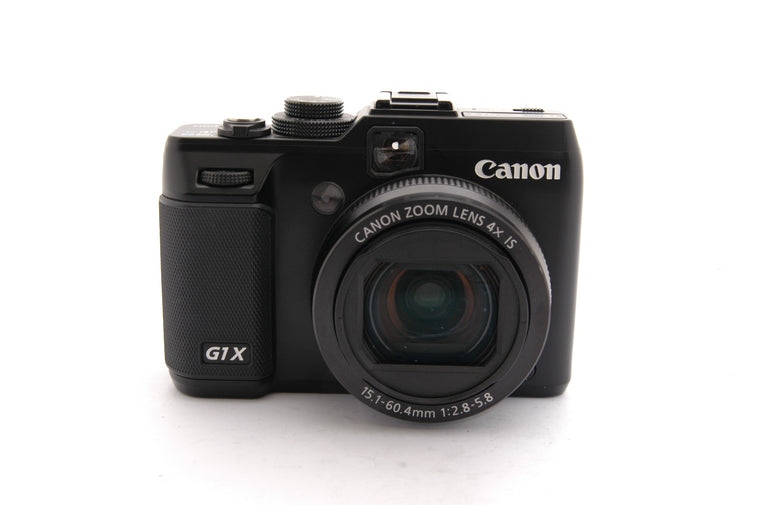 Used Canon PowerShot G1 X 14.3MP Digital Camera - Black