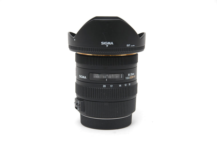 Ex-Demo Sigma 10-20mm f/3.5 EX DC HSM Lens for Canon EF-S