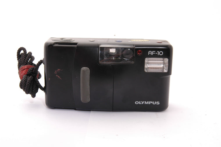 Used Olympus AF-10 35mm Film Camera