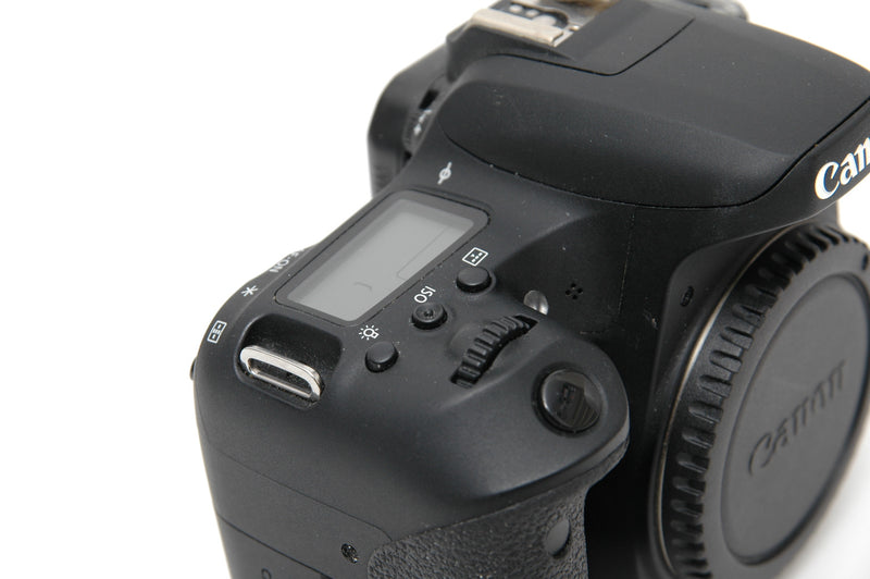Used Canon EOS 77D Camera Body - Black
