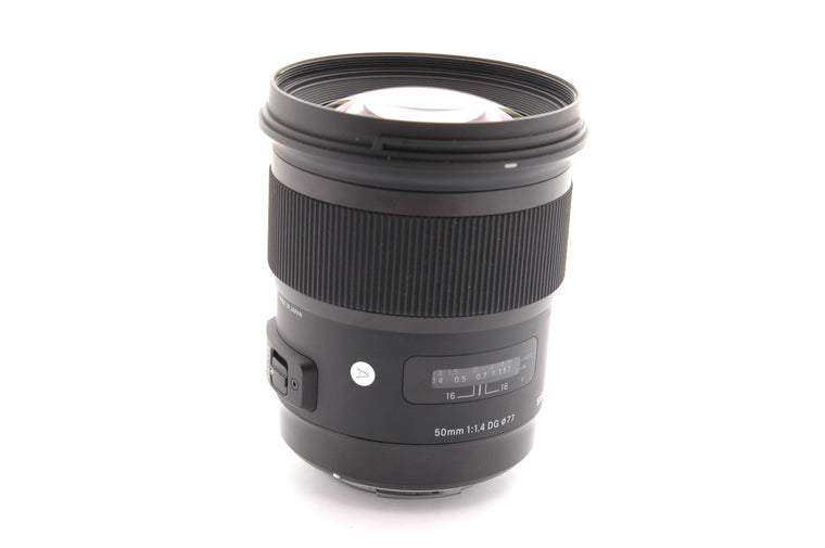 Used Sigma 50mm f/1.4 DG HSM ART for Canon