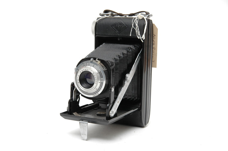 Use Agfa Billy I Folding Camera