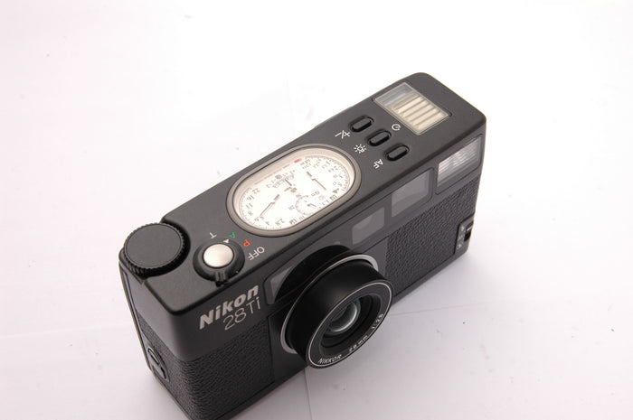 Used Nikon 28Ti Compact 35mm Film Camera - Black