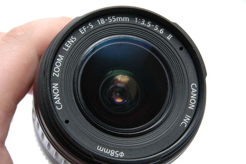 Used Canon EF-S 18-55mm f3.5-5.6 II Lens