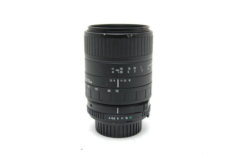 Used Sigma 70-210mm f4-5.6 UC II Manual Focus Lens for Minolta MD Mount