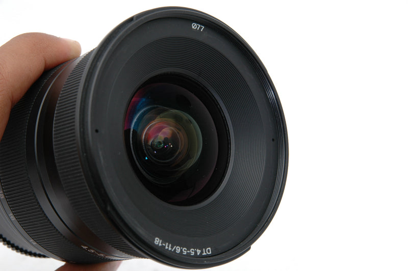 Used Sony DT 11–18mm F4.5–5.6 Wide Zoom (SAL1118) Lens