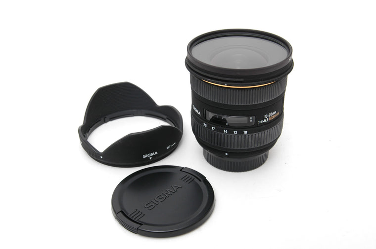 Used Sigma 10-20mm f/4-5.6 EX DC HSM Lens for Nikon