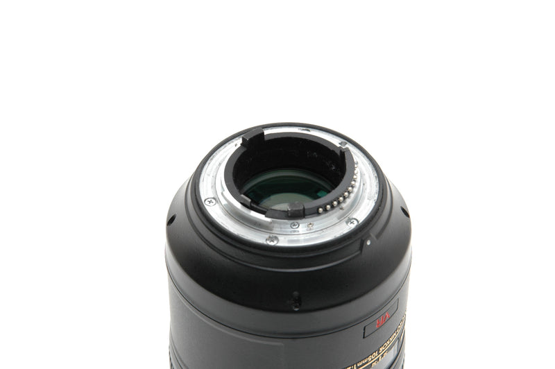 Used Nikon AF-S 105mm f/2.8G IF-ED VR Micro Lens