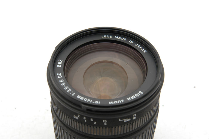 Used Sigma 18-125mm f/3.5-5.6 DC Lens for Sony