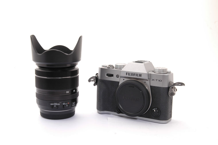 Used Fujifilm X-T10 with 18-55mm Lens