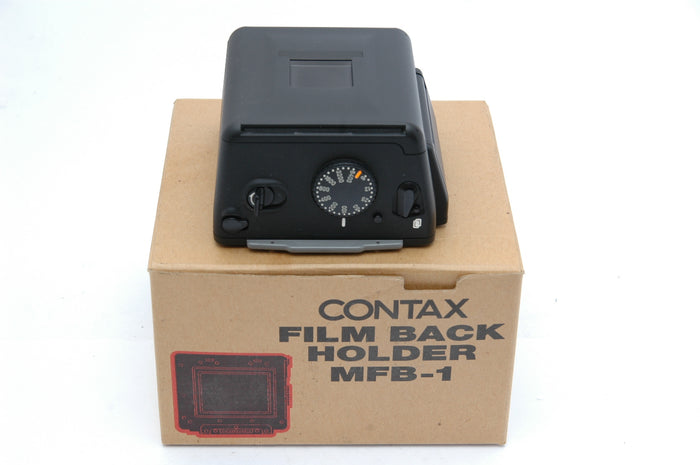 Used Contax 645 Film Back Holder with Insert  MFB-1, MFB-1a