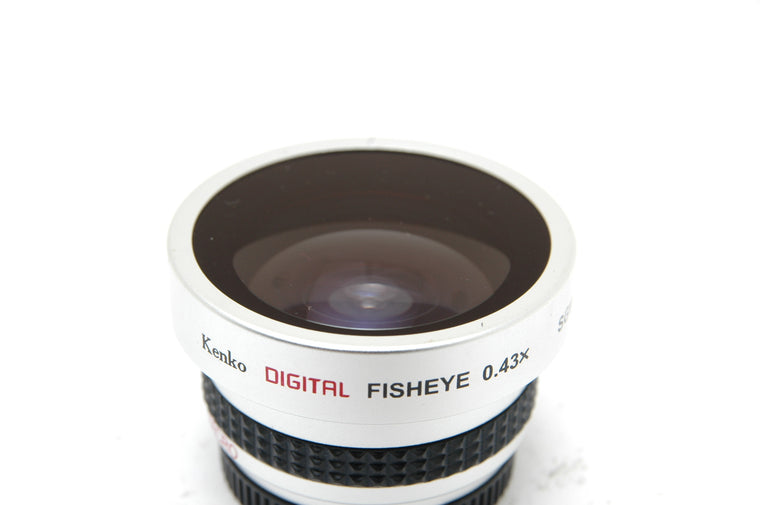 Used Kenko SGW - 043 Digital Fisheye Conversion Lens