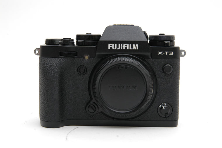 Used Fujifilm X-T3 Camera Body - Black