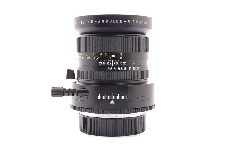Used Leica PC-Super-Angulon-R 28mm f2.8 Lens