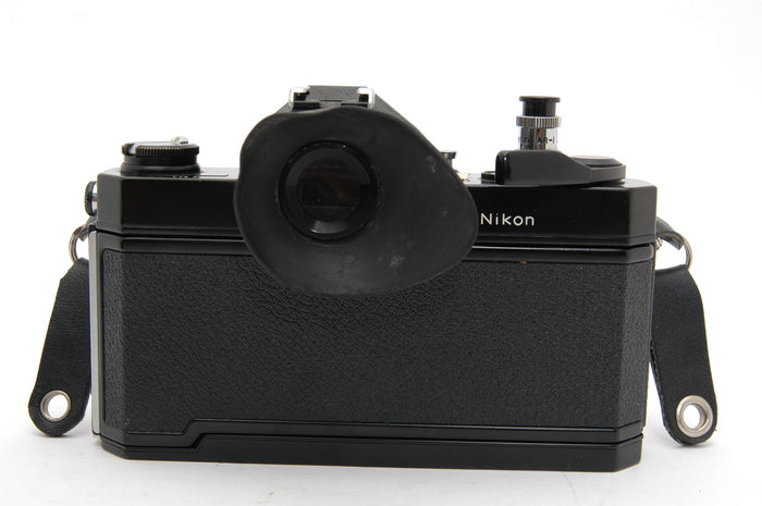 Used Nikon Nikkormat FT3 35mm Film Camera Body - Black