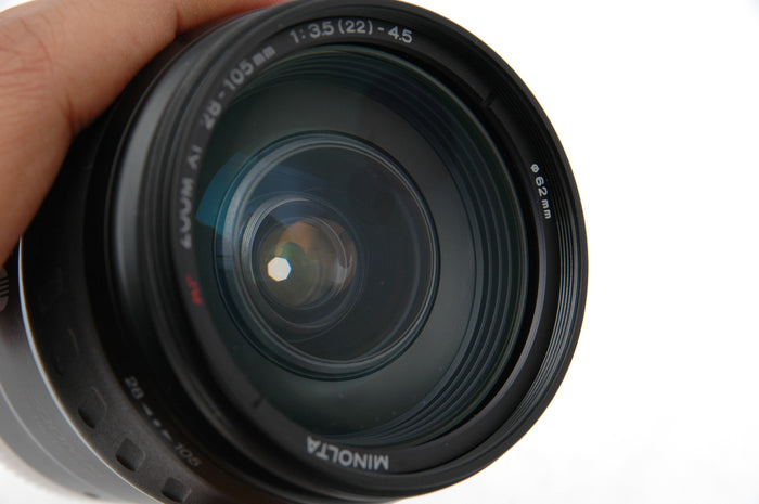 Used Minolta AF 28-105mm Zoom xi f3.5-5.6 for Sony A Mount Lens