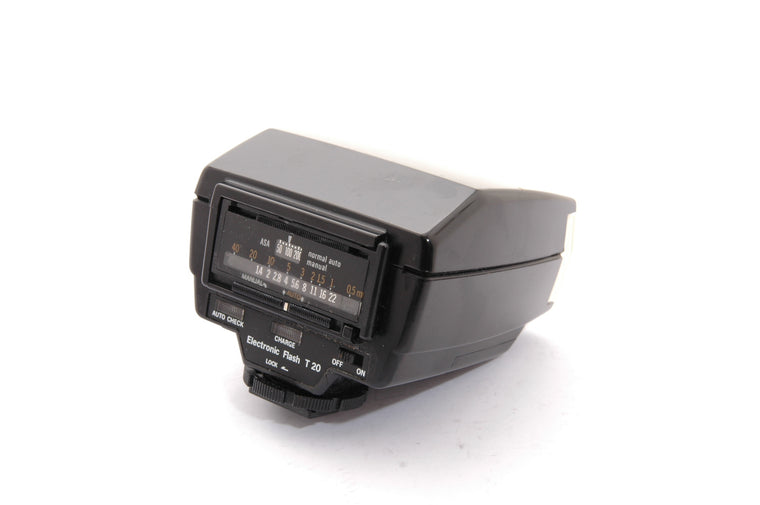Used Olympus T 20 OM Flash