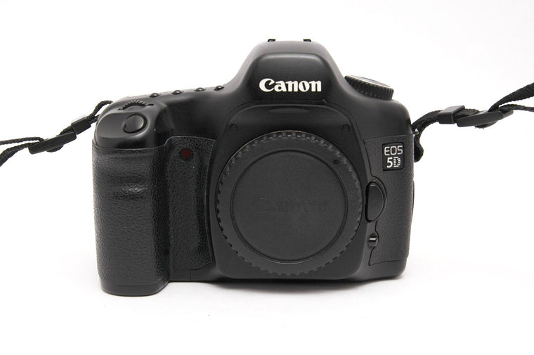 Used Canon EOS 5D Camera Body - Black