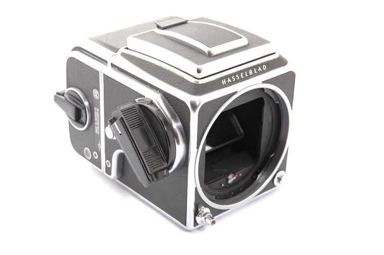 Used Hasselblad 500 C/M Camera Body with WLF and A12 Film Back