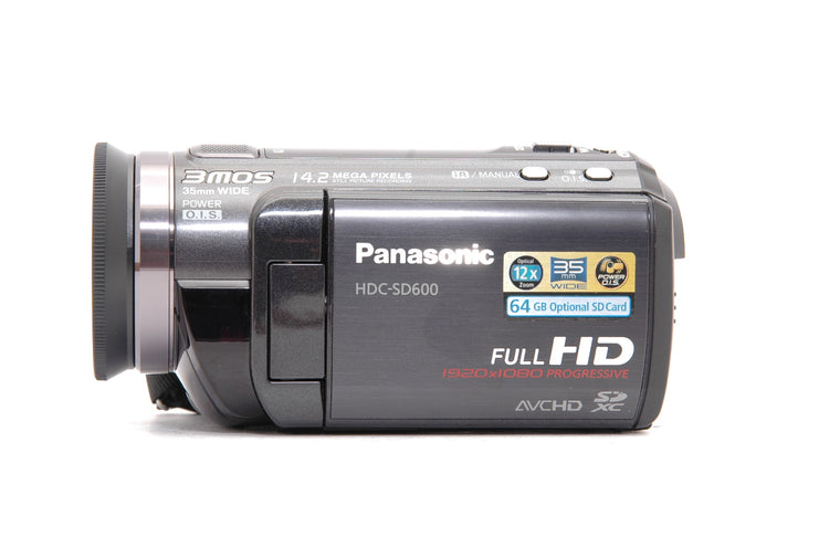 Used Panasonic HDC-SD600 High Definition Video Camera