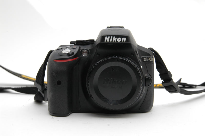 Used Nikon D5300 Camera Body - Black