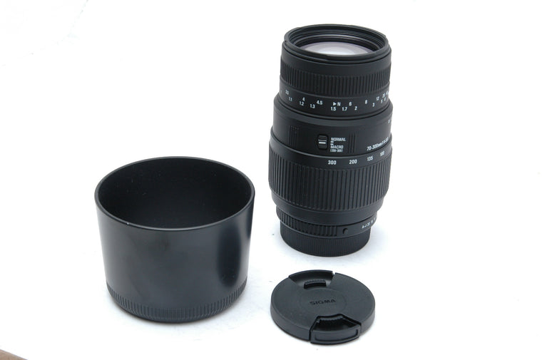 Used Sigma 70-300mm f4-5.6 DG Macro Lens for Pentax