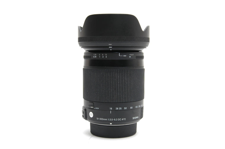 Used Sigma 18-300mm f/3.5-6.3 DC OS HSM Macro C Lens for Nikon