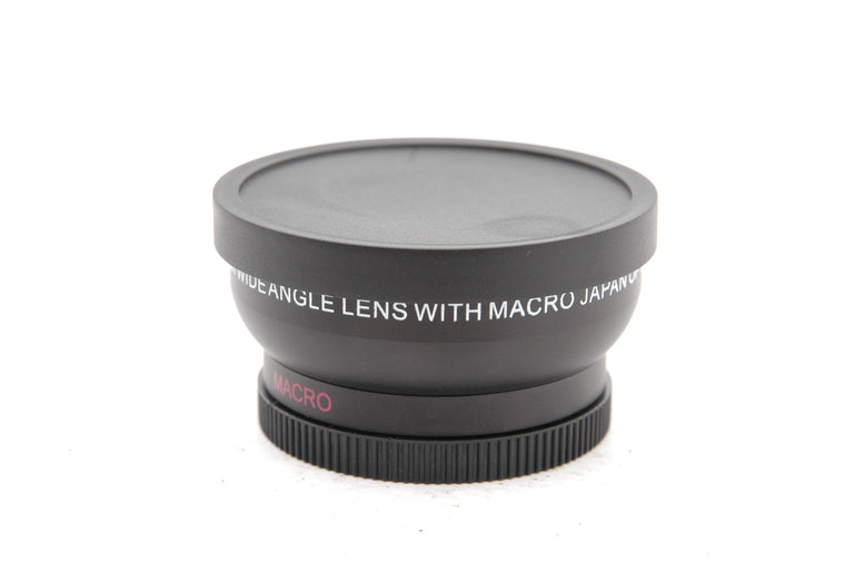 Used Digital High Definition 0.45x Super Wideangle Lens With Macro Japan Optics 52mm