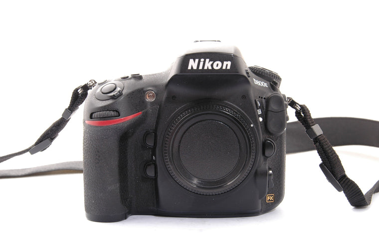 Used Nikon D800E Camera Body - Black